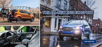 ecosport 2018 service ford p