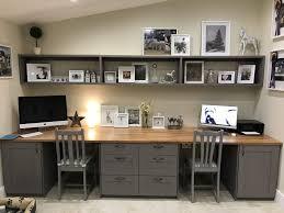 office ideas pinterest. Interior Beautiful Double Desk Officecraft Room Ideas Pinterest Home Office Thomasville Pedestal Two