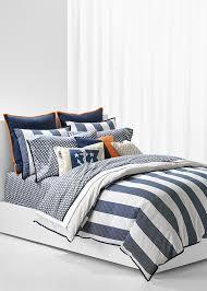 striped reversible duvet cover