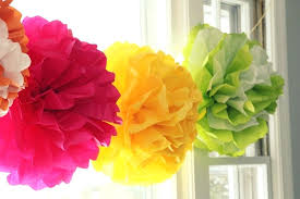 Paper Flower Balls To Hang From Ceiling Tissue Paper Balls Tissue Paper Balls Tissue Paper Pom Poms