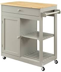 portable kitchen island for sale. Oliver And Smith - Nashville Collection Mobile Kitchen Island Cart On Wheels Wooden Grey Portable For Sale C