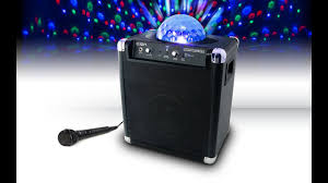 Disco Lights Kmart Ion Party Rocker With Party Lights Mic Bluetooth Speakers Jb Hi Fi