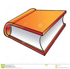 Dessin Anim Orange De Livre Illustration De Vecteur