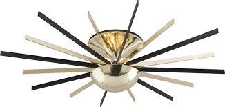 atomic lighting. brilliant lighting troy c4254 atomic modern polished brass  matte black led ceiling light  fixture loading zoom to lighting n