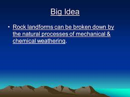 Mechanical And Chemical Weathering Venn Diagram Breaking It Down Weathering Erosion Ppt Video Online