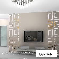 storage mirror wall art decor engaging mirror wall art decor 19 3d stickers diy for