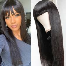 nadula natural long silky straight wig