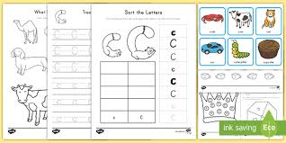 Once your child is able to recognize the simple sound made by 'c', they will be on their way to being able to. Letter C Worksheet And Activity Pack Teacher Made