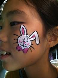Small Picture Bunny Face Paint Ideas Rabbit Face Paintjpg Coloring Pages