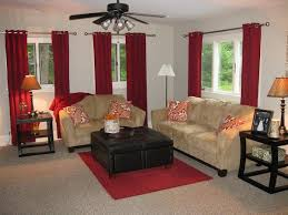 40 Living Room Curtains Ideas  Window Drapes For Living RoomsRed Curtain Ideas For Living Room
