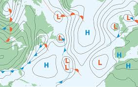 Atlantic Weather Charts Sailing Across The Atlantic