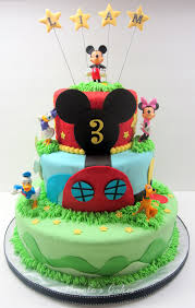 Confections Cakes Creations Mickey Mouse Clubhouse 3 Tier Cake