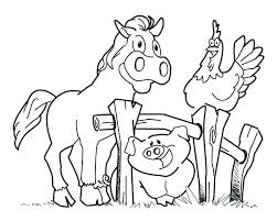free coloring pages of farm animals free farm animal free coloring pages farm animals preschool coloring