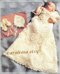 Free Crochet Christening Gown Patterns Custom Decoration