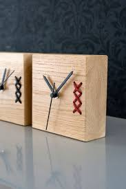 stunning home office warm solid oak. A Unique Embroidered Wood Clock. Beautiful Piece For Your Home Or Office. Nice On Desk Shelf. Great Gift Fathers Day. Solid Oak Clock With Stunning Office Warm W