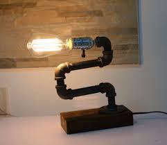 Loft Woonkamer Designer Lifestyle Edison Waterleiding Desk Top