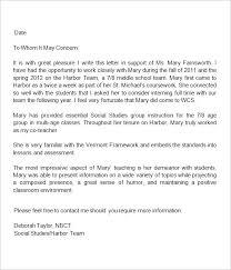 Teacher Recommendation Resumes Teacher Recommendation Resume Recommendation Letter Sample For