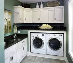 Decorations:Smart Laundry Room Organization Design Inspiration Modern  Laundry Room With Awesome Slick Countertops Design