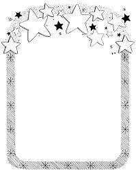 christmas clip art borders black and white. Plain Christmas Free To Print Star Border Clipart  Star Border Mormon Share With Christmas Clip Art Borders Black And White L