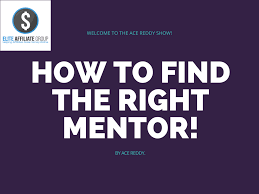 to the right mentor how to the right mentor