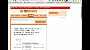 Mla Citation Generator Isbn Number The Complete Guide To Mla
