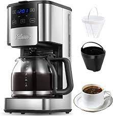 There are simply an overwhelmingly large number of different brands and their models available. Amazon Com Programmable Coffee Maker 12 Cups Coffee Pot With Timer And Glass Carafe Brew Strength Control Keep Warming Mid Brew Pause Coffee Machine With Permanent Coffee Filter Basket Anti Drip System Kitchen Dining