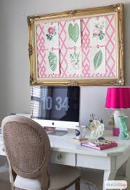 girly office. Pink Green Girly Organized Ultimate Home Office Craft Room Maekover, Rooms, Decor C