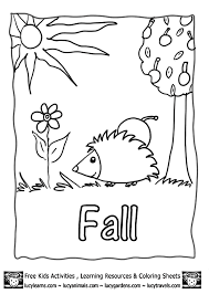 Autumn Coloring Worksheets Worksheets for all   Download and Share ...