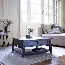 thaki black mahogany coffee table 75x75