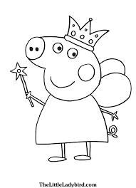 Peppa Coloring Pages Mistersofpuertoricoinfo