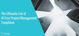 Ms Office Project Management Templates The Ultimate List Of 41 Free Project Management Templates