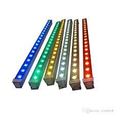 36w 3000k led wall washer white linear
