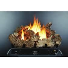 kozy world gld2450 fireplace log set vent free dual fuel 24 inch