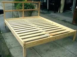 how to build a simple bed frame simple bed frame ideas homemade plans best frames full how to build a simple bed