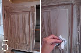 Kitchen Cabinet Paints And Glazes Diy Cabinet Makeover With Glaze Overlay Jenna Burger