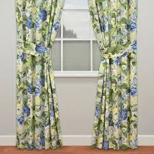 Wide Window Treatments floral flourish window treatment by waverly 5395 by xevi.us
