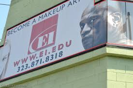 ei makeup artistry building in la