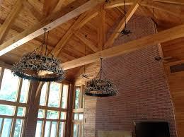 living room trusses