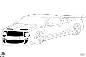 Beautiful Cartoon Race Car Coloring Pages Howtobeawesome