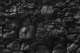 black stone wall texture. Dark Gray Big Stone Wall Texture Free Photo Black K