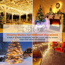 Draping And Fairy Lights For All Occasions Amazon Com Led Christmas Copper Wire Lights Decorative