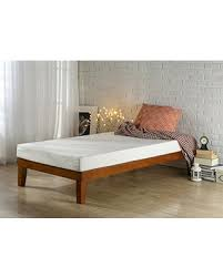 platform bed no box spring. Fine Box Zinus 12 Inch Wood Platform BedNo Boxspring NeededWood Slat Support Twin Inside Bed No Box Spring U