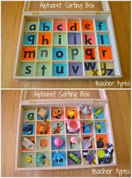 Alphabet Boxes Collage