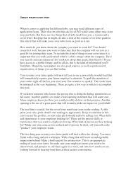 Cover Letter Curriculum Vitae Cover Letter Examples Curriculum