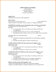 First Resume Template First Resume Template Creative Resume Ideas 9