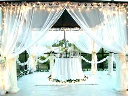 gazebo privacy curtain curtains outdoor deck screens with