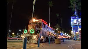Holiday Lights Train Santa Cruz Holiday Lights Train 2015