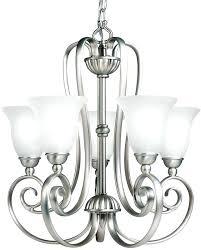 5 light chandelier brushed nickel 5 light chandelier brushed nickel halophane 5 light brushed nickel chandelier