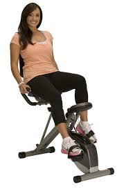 com exerpeutic 400xl folding rebent bike exercise bikes sports outdoors