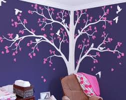 corner tree wall art